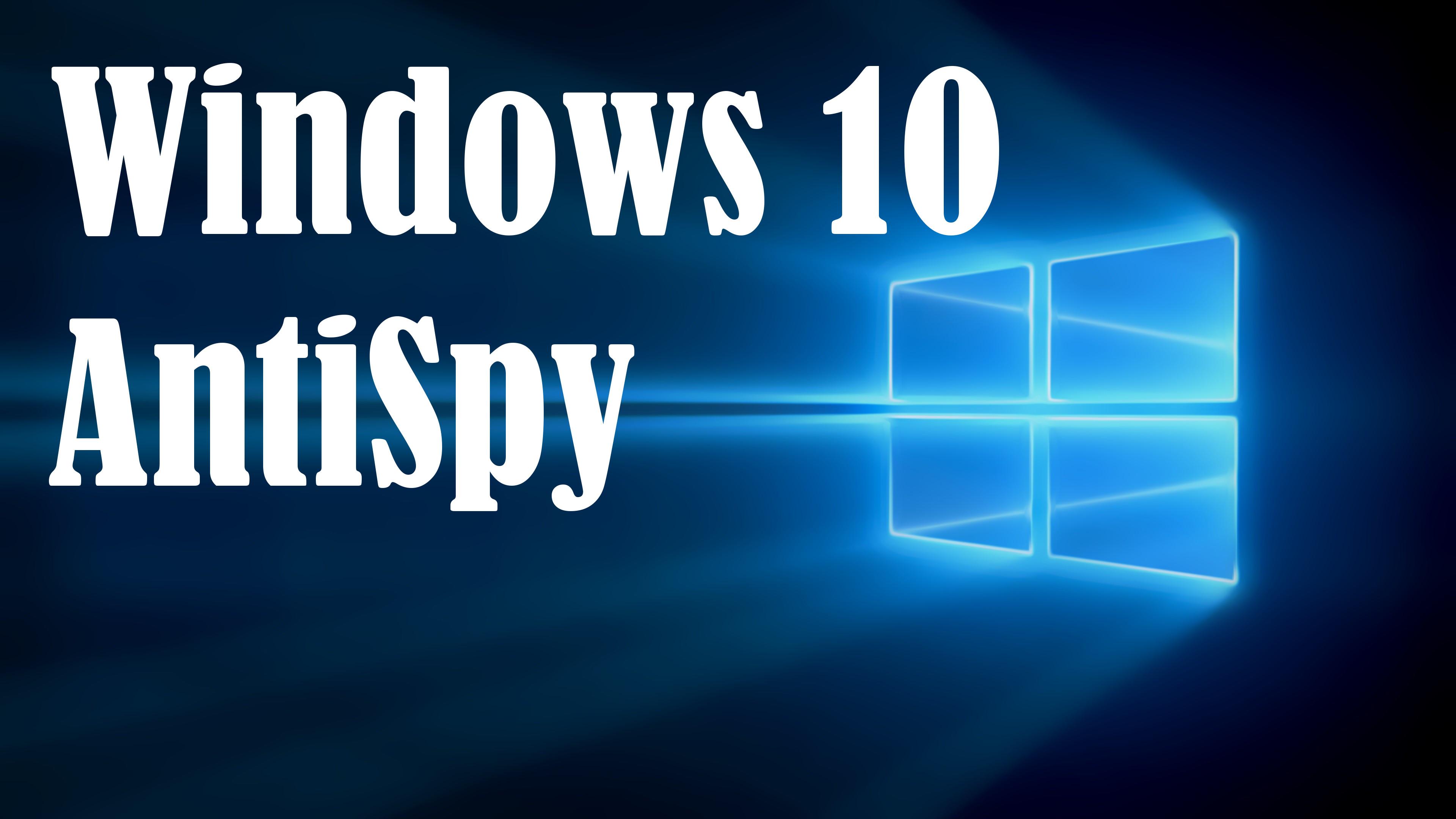 Windows 10 Donotspy